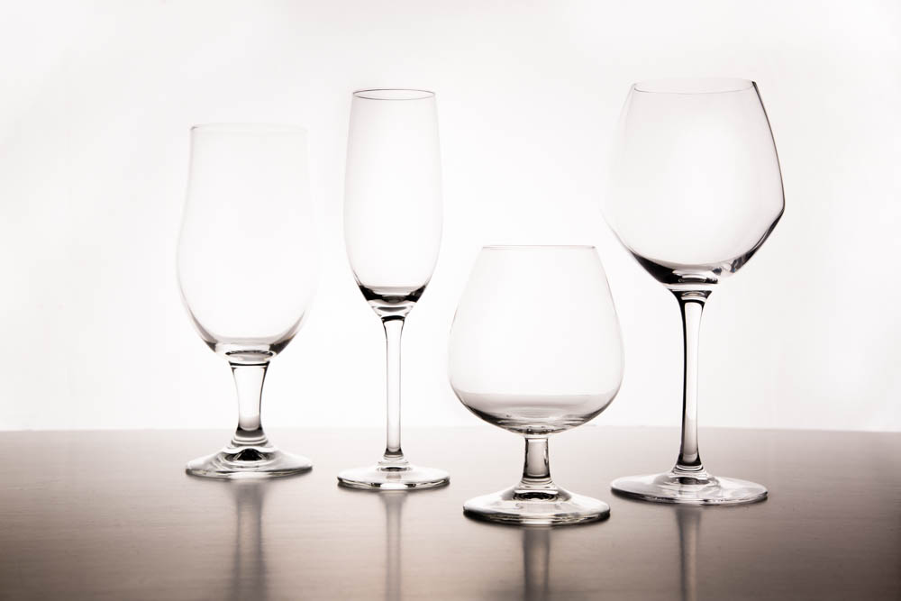 Group of wine glasses