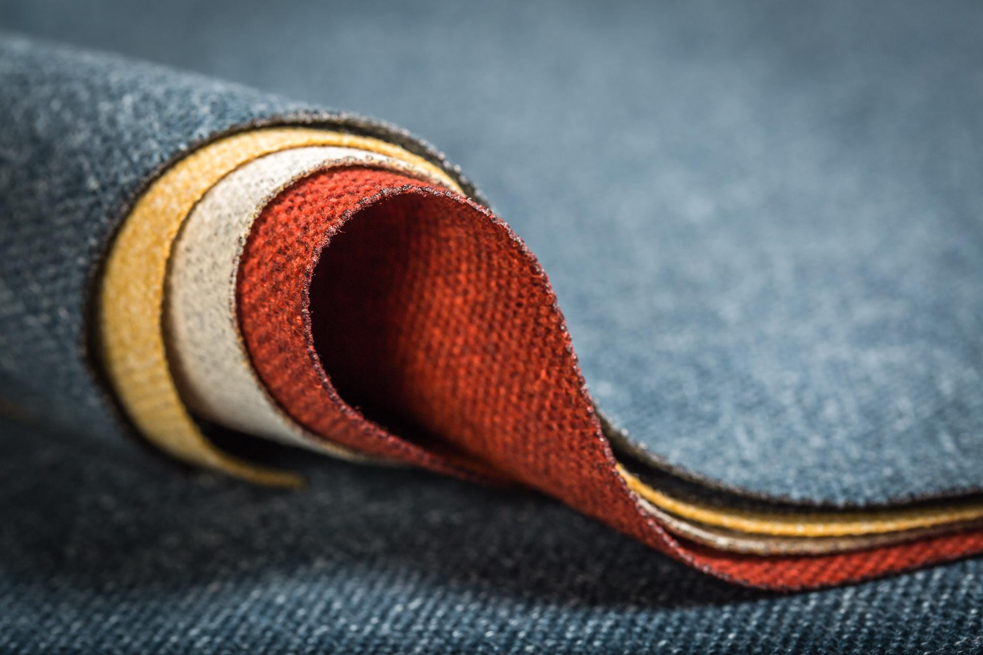 Laser cut textiles