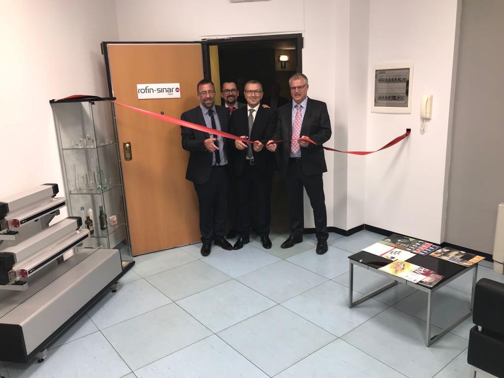 Italian office opening ceremony