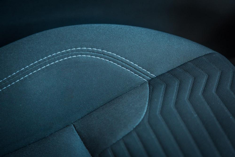 Textile car seat