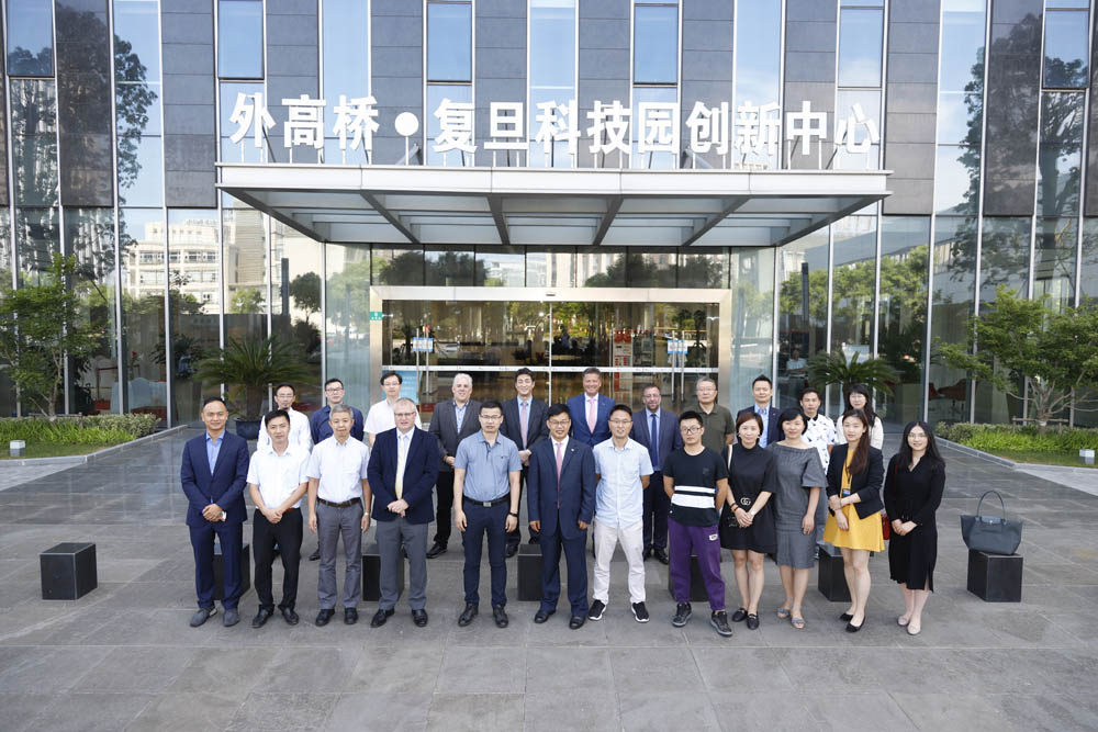 Shanghai office opening group photo