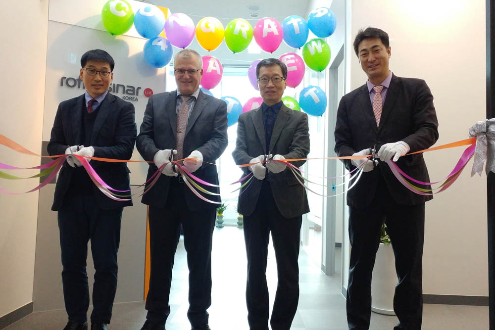 Korean office opening ceremony