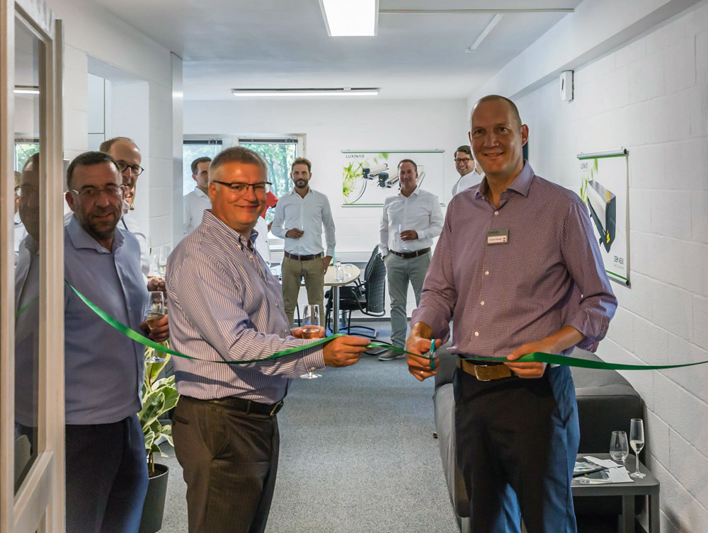 Opening of Luxinar GmbH