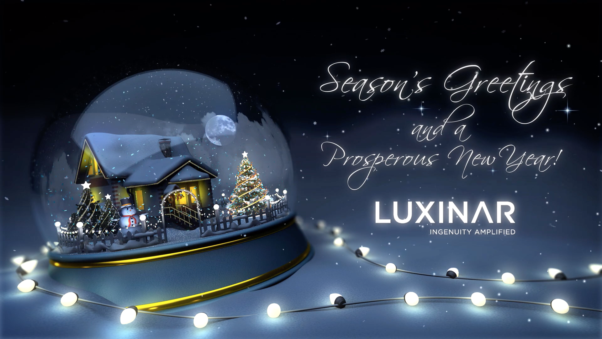 Luxinar Christmas message (English)