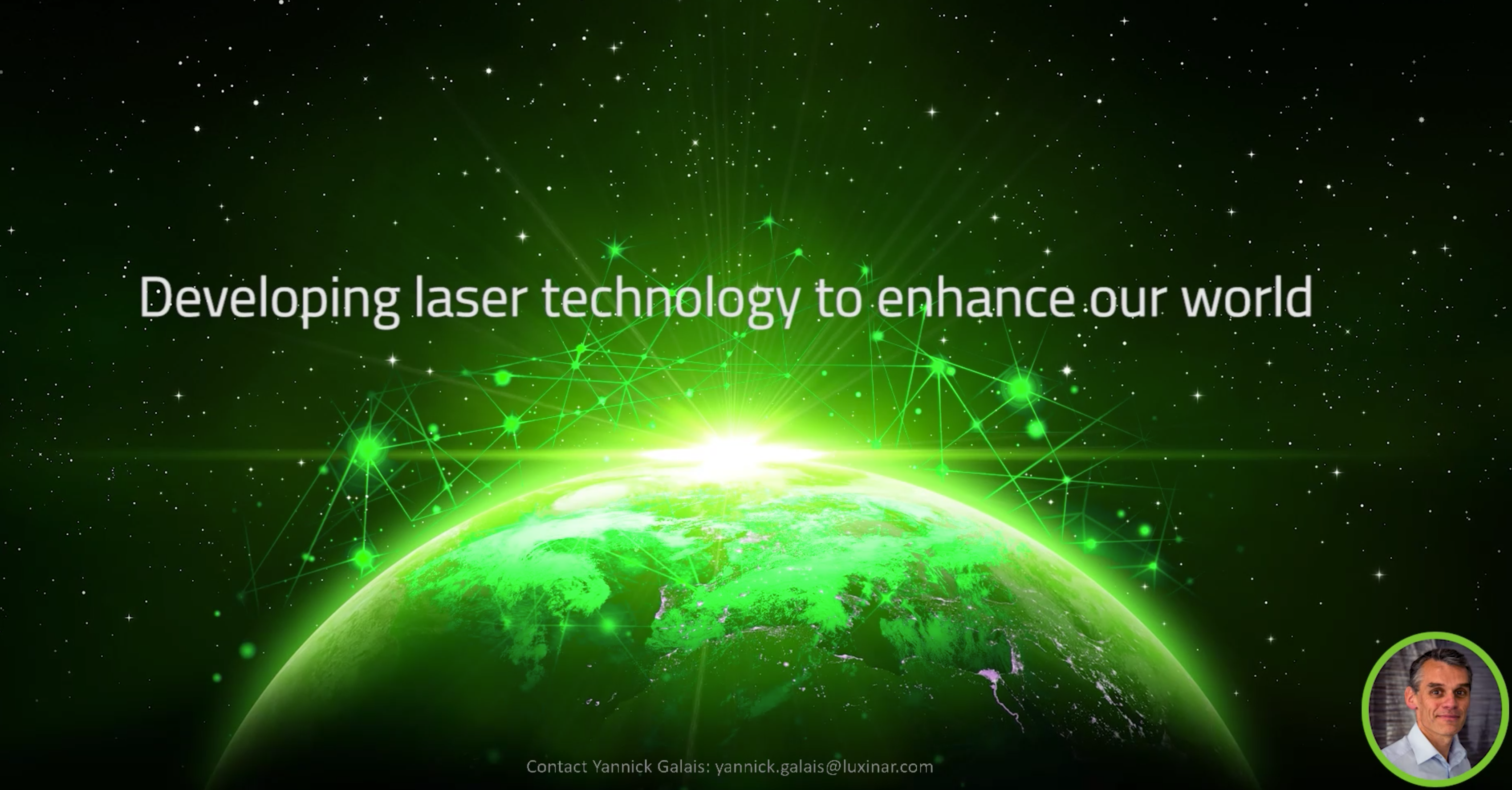 Developing laser technology to enhance our world
