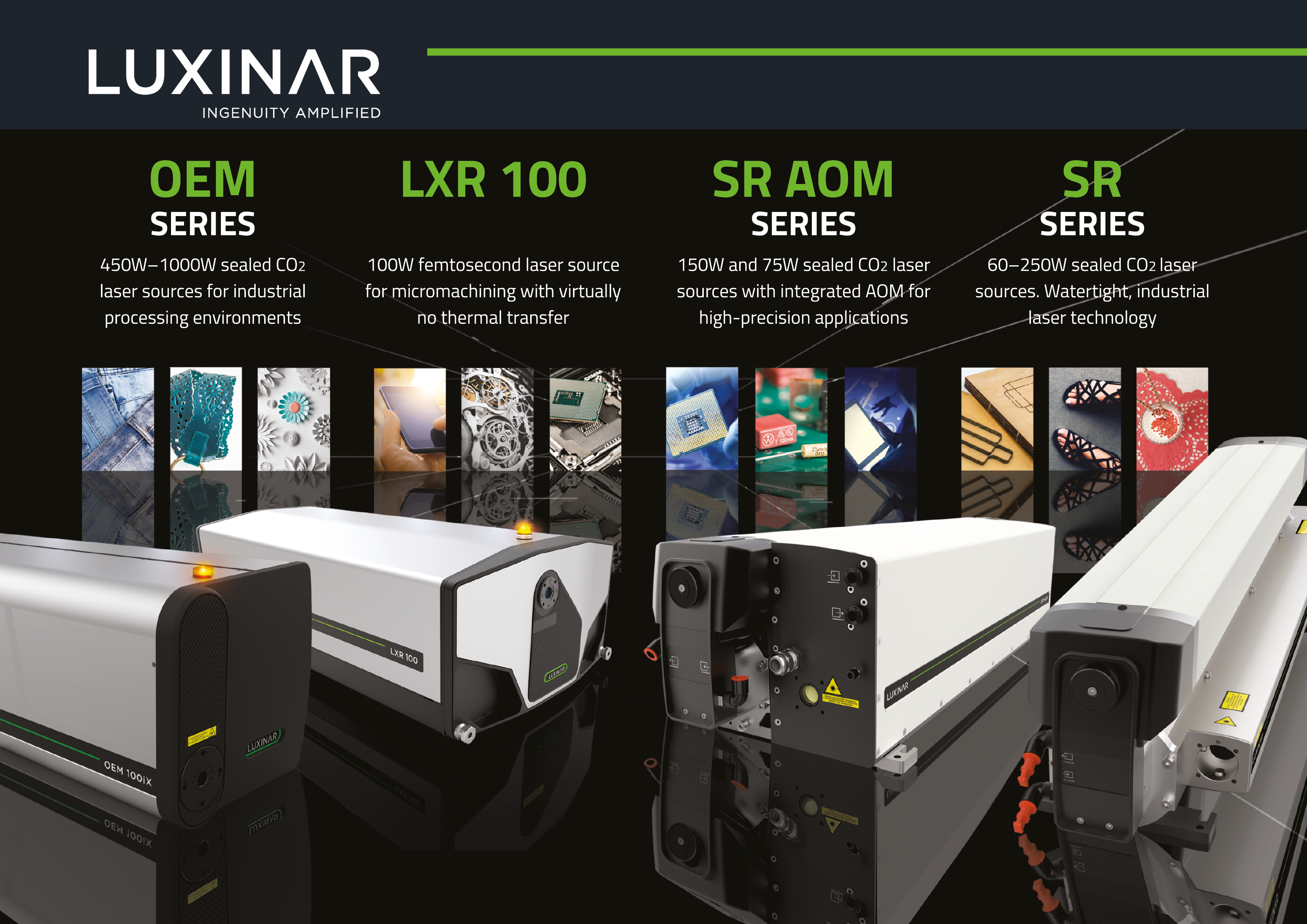 CO2 laser source product range from Luxinar