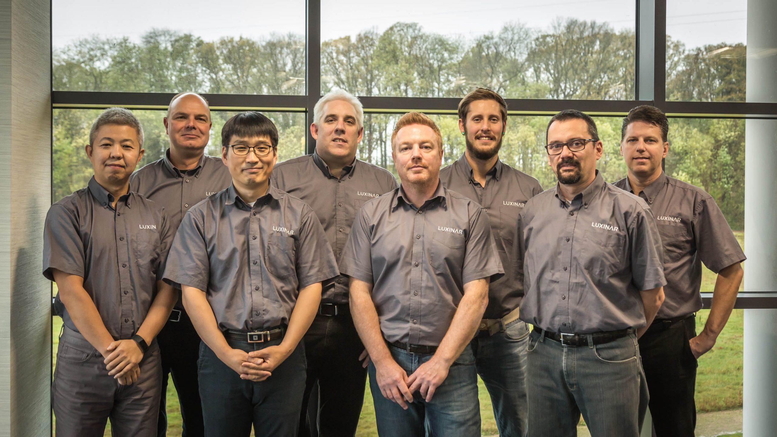 Luxinar의 글로벌 애프터세일즈 팀