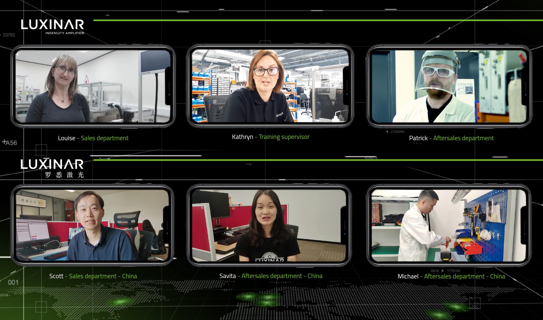Ein Tag um Luxinar - Videoclips von Kollegen auf der ganzen Welt